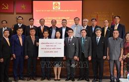 Cộng đồng người Việt Nam tại Thái Lan quyên góp ủng hộ đồng bào miền Trung