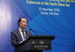 Thúc đẩy hợp tác nhằm bảo đảm đối xử công bằng và nhân đạo với ngư dân