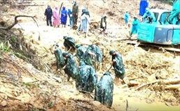 Điện thăm hỏitình hình mưa lũ và sạt lở đấttại các tỉnh miền Trung