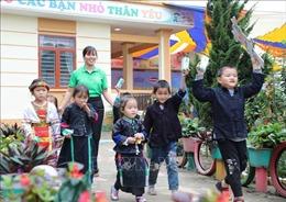 Vinamilk cùng Quỹ sữa Vươn cao Việt Nam chung tay vì trẻ em khó khăn tỉnh Hà Giang