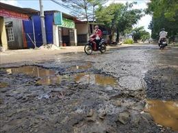 Nhiều tuyến đường đô thị TP Buôn Ma Thuột bị xuống cấp nghiêm trọng