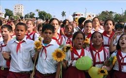 Nga viện trợ 5 triệu USD cho dự án dinh dưỡng học đường của Cuba
