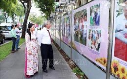 Những hình ảnh tiêu biểu 90 năm Mặt trận Tổ quốc Việt Nam