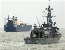 Nhật Bản gia hạn sứ mệnh chống cướp biển ở Vịnh Aden