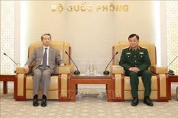 Thứ trưởng Bộ Quốc phòng Hoàng Xuân Chiến tiếp Đại sứ Trung Quốc tại Việt Nam