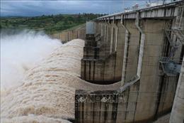 Phú Yên: Điều tiết xả lũ, tránh áp lực ngập lụt vùng hạ du sông Ba