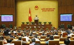 Thông cáo báo chí số 14, Kỳ họp thứ 10, Quốc hội khóa XIV