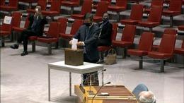Đại hội đồng, Hội đồng Bảo an LHQđồng thời bỏ phiếu bầu thẩm phán Tòa án quốc tế