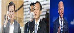 Lãnh đạo Nhật Bản, Hàn Quốcđiện đàm với ông J. Biden, khẳng định quan hệ đồng minh