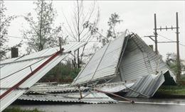 Quảng Bình ghi nhận 8 người bị thương, hơn 230 nhà bị tốc mái, hư hỏng do bão số 13