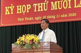 Ông Trần Quốc Nam được bầu giữ chức Chủ tịch UBND tỉnh Ninh Thuận