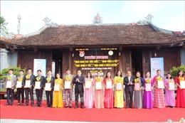 Hà Tĩnh tuyên dương 60 giáo viên, sinh viên, học sinh tiêu biểu