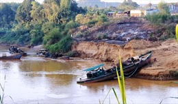 Lâm Đồng: Xử phạt 65 triệu đồng và tịch thu 2 tàu hút cát trái phép
