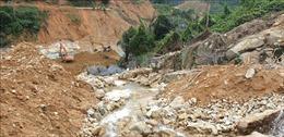 Hoàn thành khoảng 80% khối lượng đào nắn dòng chảy tại Thủy điện Rào Trăng 3