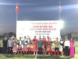 Khai mạc giải bóng đá 'Over 29 Việt Nam'tại Lào lần thứ I