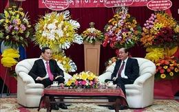 Lãnh đạo TP Hồ Chí Minh chúc mừng 45 năm Quốc khánh Lào