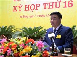 Giám đốc Sở GTVT được bầu giữ chức Phó Chủ tịch UBND tỉnh Hà Giang