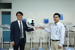 Quảng Ngãi: Tiếp nhận 2 gói thiết bị y tế hỗ trợ từ Hàn Quốc