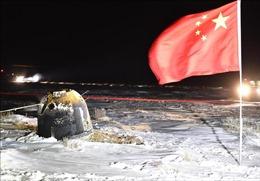 Tàu vũ trụ Thường Nga 5 của Trung Quốc trở về Trái Đất