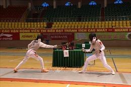 Hà Nội đứng thứ Nhất toàn đoàn tại Giải vô địch trẻ đấu kiếm quốc gia