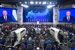 Tổng thống Nga kêu gọi đoàn kết đẩy lùi dịch bệnh trong thông điệp Năm mới