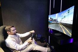 LG giới thiệu màn hình uốn cong tạo âm thanh 48 inch tại CES 2021
