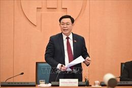 Bí thư Thành ủy Hà Nội Vương Đình Huệ: Cần phải có những công trình đầu tư không hối tiếc
