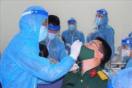 Toàn bộ 1.800 mẫu xét nghiệm cán bộ, nhân viên y tế Bệnh viện Quân y 175 âm tính