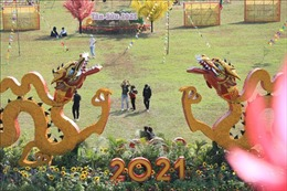 Hoàng Thành Thăng Long với không khí Tết Việt xưa qua các trò chơi dân gian