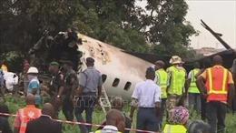 Máy bay quân sự của Nigeria gặp nạn trong quá trình hạ cánh