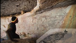 Phát hiện bức vẽ trên đá có niên đại lâu đời nhất ở Australia