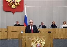 Tổng thống V. Putin cảnh báo Nga vẫn đối mặt với những mối đe dọa từ bên ngoài