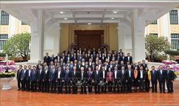Gặp mặt thân mật các đồng chí nguyên lãnh đạo Đảng, Nhà nước không tái cử khóa XIII