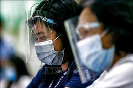 Số ca mắc COVID-19 tăng đột biến tại Philippines