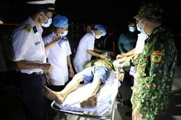 Trung tâm Y tế đảo Trường Sa cấp cứu thành công ngư dân bị đột quỵ não
