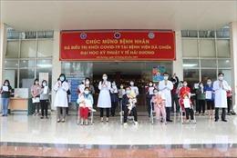 Hải Dương: Thêm 28 bệnh nhân mắc COVID-19 ra viện