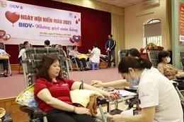 Ngày hội 'BIDV Yên Bái -Những giọt máu hồng'năm 2021