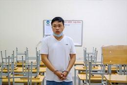 Bắt đối tượng giả dạng học sinh vào trộm cắp tại nhiều trường học