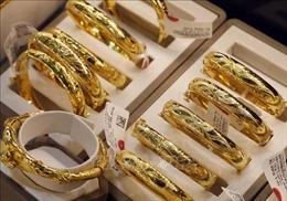 Giá vàng tăng 100.000 đồng/lượng