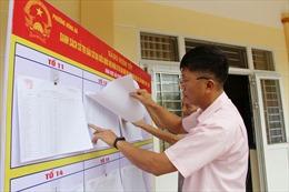 Nhiều địa phương ở Quảng Ninh đã hoàn thành niêm yết danh sách cử tri