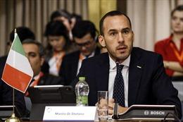 Thứ trưởng Ngoại giao Italy: 'Việt Nam và Italy có thể cùng nỗ lực và hợp tác trong các lĩnh vực có lợi ích chung'