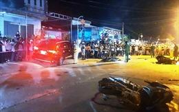 Lái xe gây tai nạn giao thông ở huyện Đại Lộc đã sử dụng rượu bia