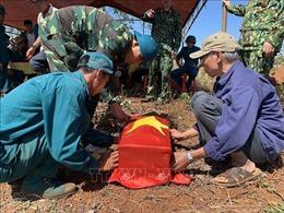 Quy tập hài cốt liệt sỹ tại huyện Tuy Đức,Đắk Nông