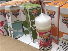 Phát hiện gần 14.000 lọ tinh dầu thuốc lá điện tử nhập khẩu không rõ nguồn gốc