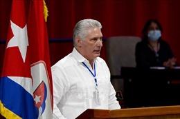 Đồng chí M.Diaz-Canel được bầu làm Bí thư thứ nhất PCC