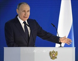 Tổng thống Putin cảnh báo các đối thủ về 'lằn ranh đỏ'