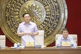 Chủ tịch Quốc hội Vương Đình Huệ: Xây dựng pháp luật phải có tầm nhìn xa