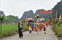 Gìn giữ nét độc đáo lễ hội Đền Thái Vi