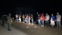 Ngăn chặn 38 người nhập cảnh trái phép vào Cao Bằng