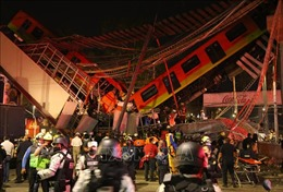 Điện thăm hỏi về vụ tai nạn tại Tuyến metro số 12 ở Mexico